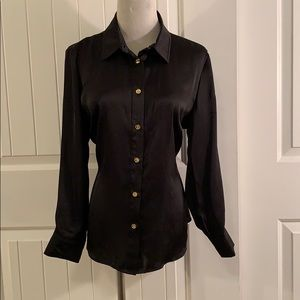 Micheal Kors Button Front Blouse